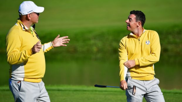 Thomas Bjørn is confident that Rory McIlroy can end his Majors droubt and ass to his four wins. Photograph: Stuart Franklin/Getty Images