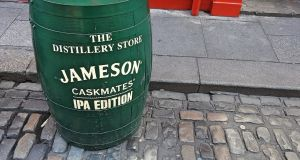 Sales of Jameson rose 11%  to 235,400  cases, giving the brand a 40.5% market share domestically. Photograph:  iStock
