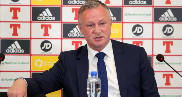 8386ba2ff3 Northern Ireland manager Michael O'Neill wants his side to end their long  wait for