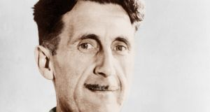 "George Orwell: his novel 1984, published 70 years ago today, contains what has been dubbed ""one of the strangest coincidences in literature"". Photograph: Getty Images"