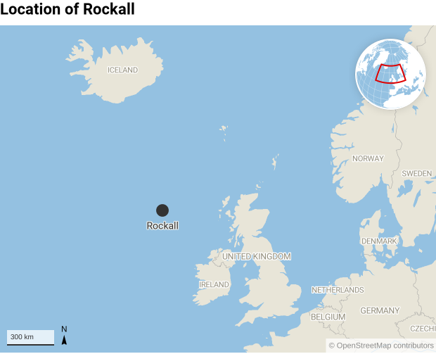 Map Of Uk 12 Mile Limit.Who Owns Rockall A History Of Disputes Over A Tiny Atlantic Island