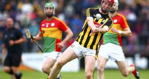 Kilkenny's Adrian Mullen in action against Carlow. Photograph: Ken Sutton/Inpho