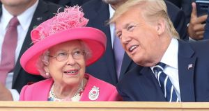 Donald Trump: 'There are those that say they have never seen the queen have a better time'