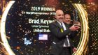 US tech veteran Brad Keywell has been named EY World Entrepreneur of the Year for 2019. Photograph: Daniel Candaux