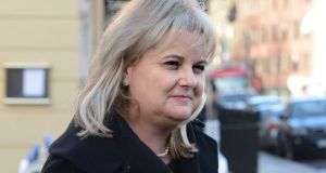 Angela Kerins, chief executive of Rehab, arriving for the PAC meeting in 2014. Photograph: Cyril Byrne / THE IRISH TIMES