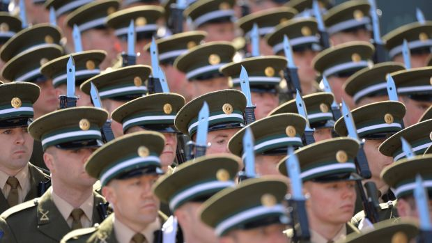 There are fears in Government that a soon to be announced package of pay improvements for the Defence Forces will not meet the expectations. File photograph: Alan Betson/The Irish Times