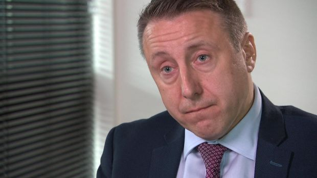 Director of public prosecutions for Northern Ireland Stephen Herron. Photograph: UTV/PA