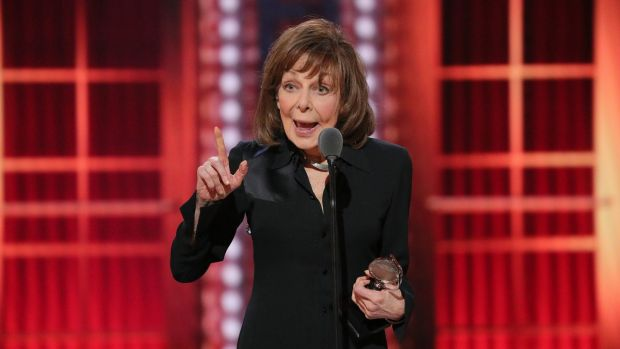 Elaine May (87) earned her first Tony, winning best actress in a play for her moving performance as a mentally declining woman in The Waverly Gallery. Photograph: Sara Krulwich/The New York Times