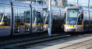 File photograph of the Luas tram. Photograph: Cyril Byrne