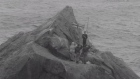 Archive: British flag hoisted on Rockall in 1955