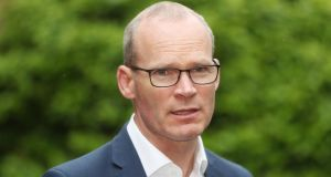 Tánaiste Simon Coveney:  'I think the less we talk about boardings and potential clashes the better.' Photograph: Niall Carson/PA Wire