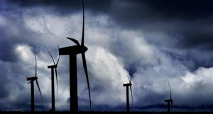 """We are leading worldwide in how much wind-generated electricity we integrate into our grid."" Photograph: Ben Curtis/PA"