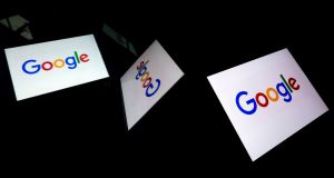 Since January 2017, traffic from Google Search to news publisher sites has risen by over 25% to about 1.6bn visits a week in January 2018. Photograph:  Lionel Bonaventure/AFP/Getty Images