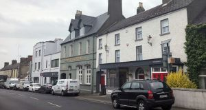 The Commercial Inn, Rathdowney, Co Laois. Most locals said they were not opposed to the accommodation centre but would have appreciated some advance notice.  Photograph: Sorcha Pollak