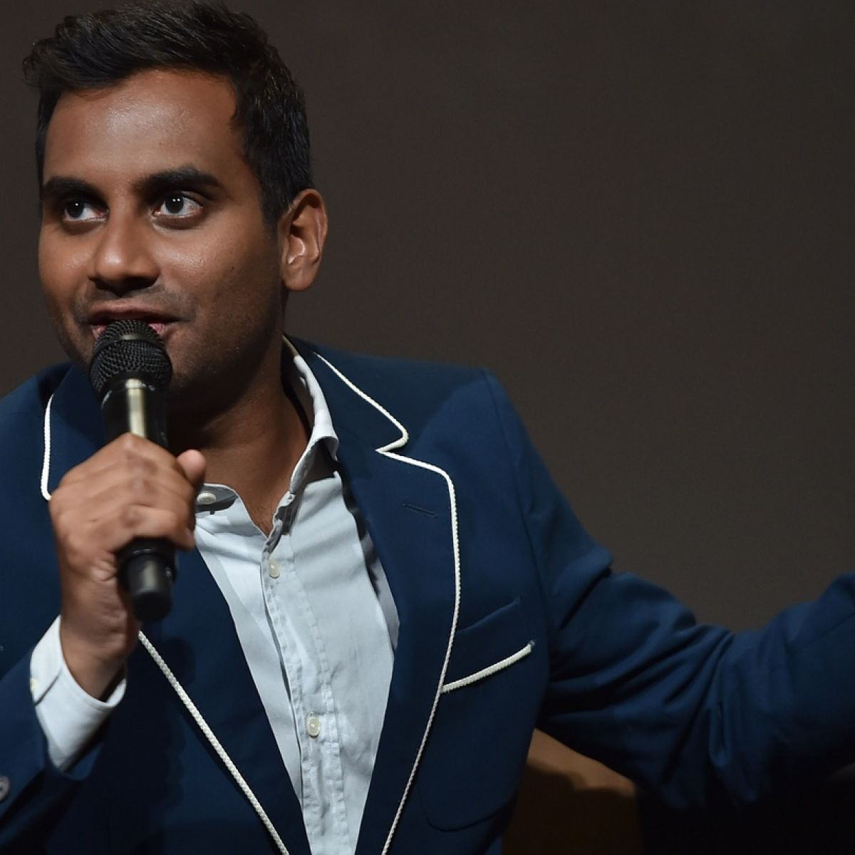 Aziz Ansari: 'It's my second show in Dublin and it's as white as the