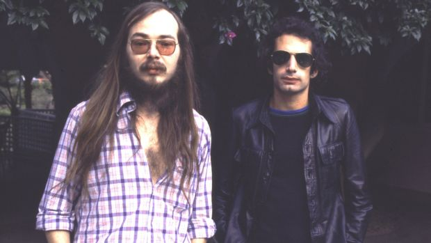 Walter Becker and Donald Fagen of Steely Dan in 1977. Photograph: Chris Walter/WireImage