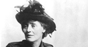 Countess Constance Markievicz who appeared in Tuesday's higher level Irish Leaving Cert exam.