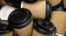 Junior Cycle business students were required to answer a question on a  proposed 15c tax on disposable coffee cups. Photograph: iStock