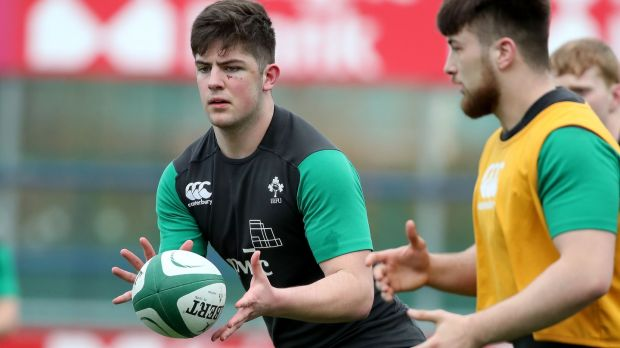 Luke Clohessy has been called-up as an injury replacement for the Ireland Under-21 team in Argentina. Photograph: Bryan Keane/Inpho