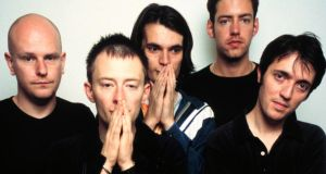 Radiohead: the band in 1997, when they released OK Computer. Photograph: Jim Steinfeldt/Michael Ochs/Getty