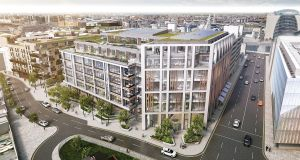 The Sorting Office scheme is currently under development in Dublin's south docklands.