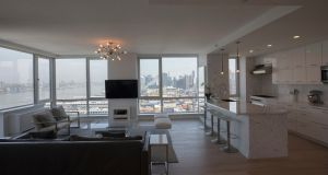 The inside  of the Manhattan condominium with the  $85m price tag. Photograph: James Estrin/The New York Times