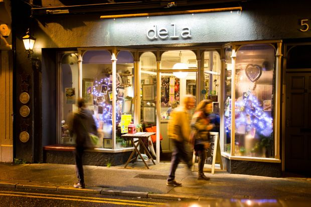 Dela, on Lower Dominick Street in Galway