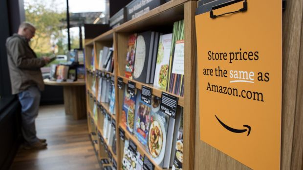 Amazon has opened its own chain of book shops.