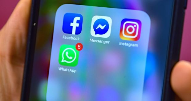 """The growth of WhatsApp and the move away from the Facebook platform is likely due to a deliberate strategy on the part of Facebook."" Photograph: Nick Ansell/PA Wire"