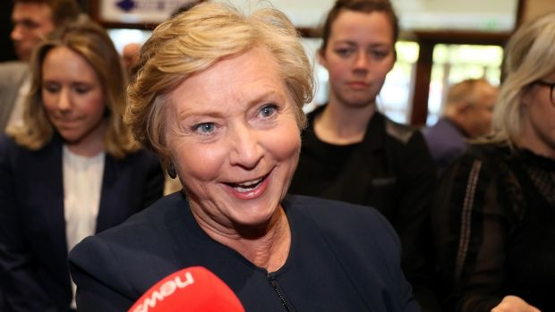 The byelections are needed fill the vacancies created by the election of four TDs to Europe including Frances Fitzgerald . Photograph:: Brian Lawless/PA Wire
