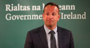 Taoiseach Leo Varadkar is concerned by political developments in the UK. Photograph: Liam McBurney/PA Wire