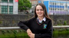 Gaelcholaiste Luimnigh Leaving Cert student Sophie Hickey. 'I've tried to balance all the study and work with a bit of rest and relaxation,' she says. Photograph: Arthur Ellis