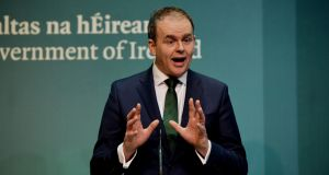 Minister for Education Joe McHugh is due to meet with hundreds of Irish teachers at meetings in Dubai and Abu Dhabi on Wednesday and Thursday this week. Photograph: Alan Betson