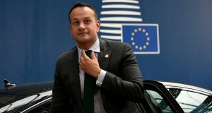 Taoiseach Leo Varadkar, who warns it would be a 'terrible political miscalculation' for anyone in London to think they will automatically get a better Brexit deal after Westminster's failure to ratify the withdrawal agreement. File photograph: John Thys/Reuters