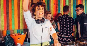 Annie Mac DJing at the Lost and Found festival, Malta. Photograph: Luke Dyson