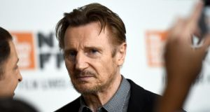 Liam Neeson: 'Have we been quick to rush to judgment? Totally and embarrassingly,' says David Puttnam. Photograph: Jared Siskin/Getty