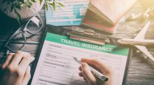 Don't leave it until the last minute to get travel insurance  - almost 40 per cent of the claims are made before travel with illness and death the most likely reasons for cancelled holidays