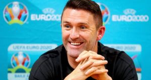 Robbie Keane has been offered the assistant manager job at Middlesbrough. Photograph: Tommy Dickson/Inpho