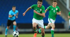 Robbie Keane has urged caution over the prospects of 17-year-old Spurs and Ireland prodigy Troy Parrott. Photograph: Simon Stacpoole/Inho