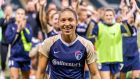 "Jaelene Hinkle:  ""If I never get another national team call-up again then that's just a part of His plan, and that's okay.""  Photograph: Diego Diaz//Icon Sportswire via Getty Images"