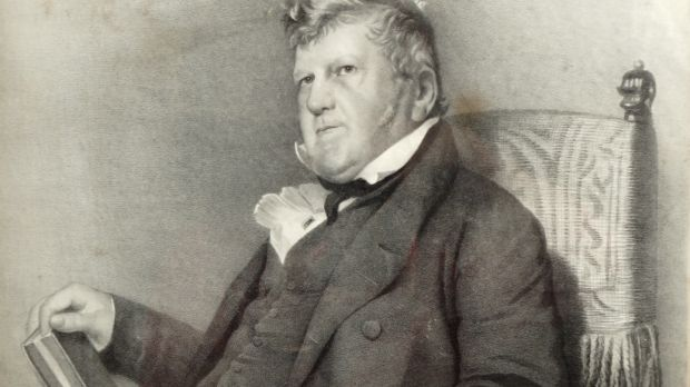 Lithograph of John Purser who was a partner in the Guinness Brewery, €200- €300
