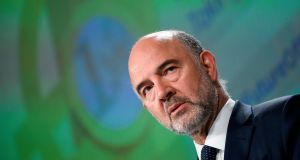Economics Commissioner Pierre Moscovici said on Wednesday that Brussels wanted Italy to present 'a credible path' for its finances this year and next, and called for quick decisions