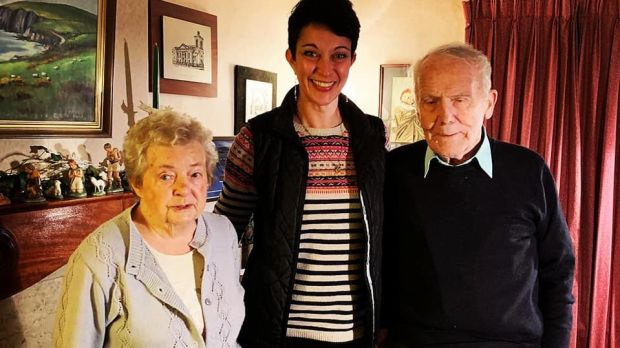 Kerry Neville with Phyllis and Dónal: Despite weathering the losses and difficulties true to all marriages, their marriage was still first-flush, head-over-heels solicitous love after 60 years. .