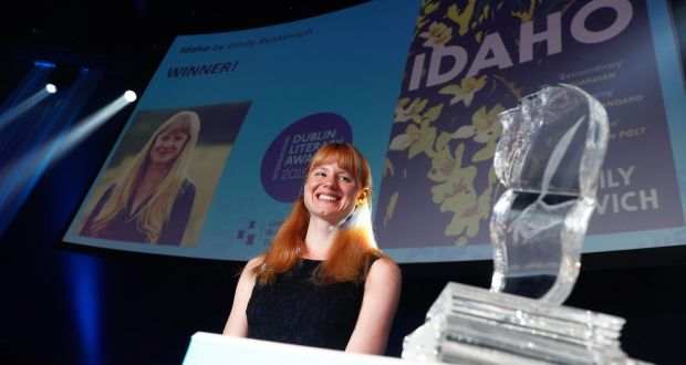 Emily Ruskovich,  winner of the 2019 International Dublin Literary Award, for her debut novel Idaho. Photograph: Conor McCabe