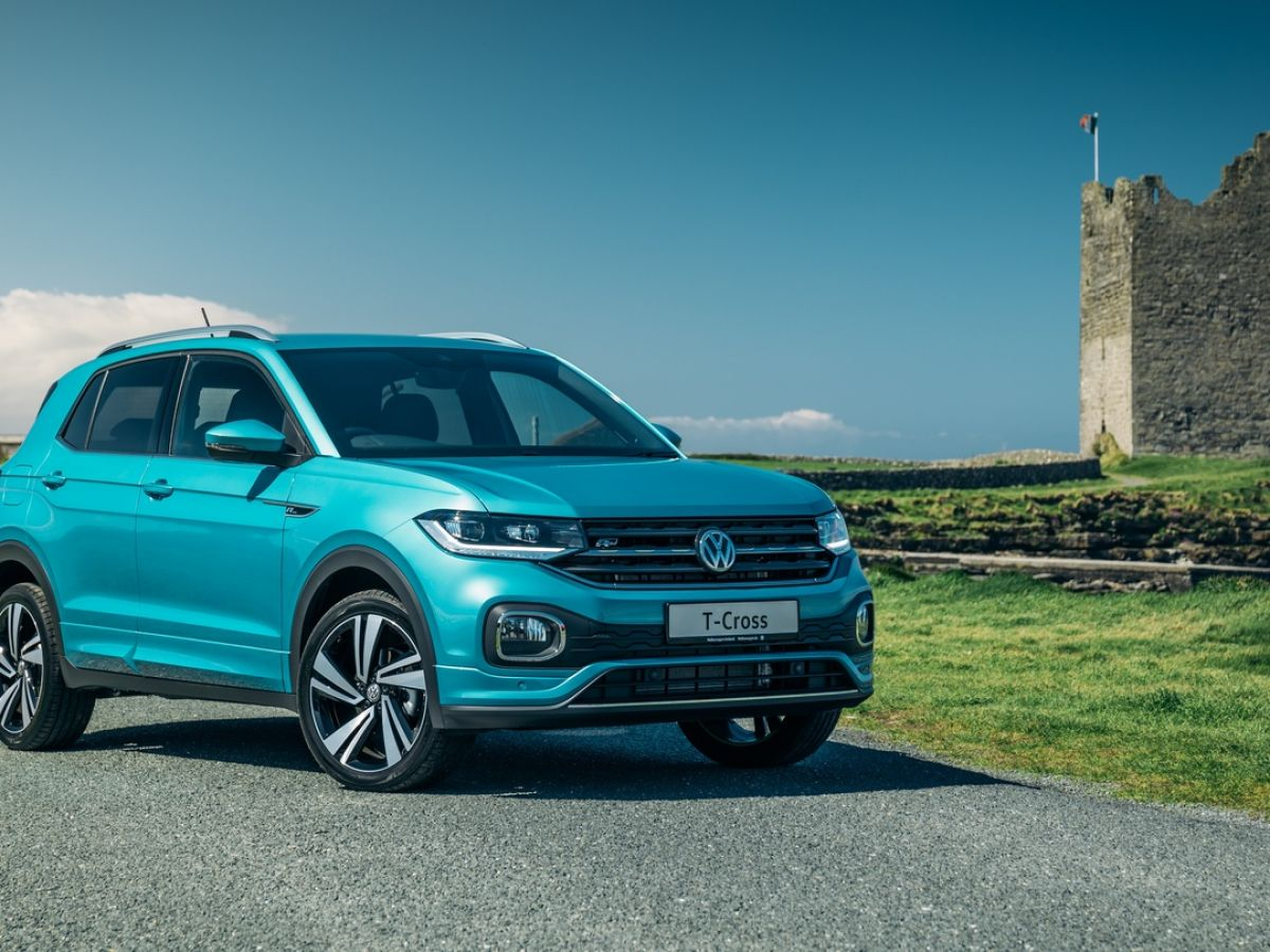 Volkswagen T Cross Cool Little Crossover With Strong Polo Roots