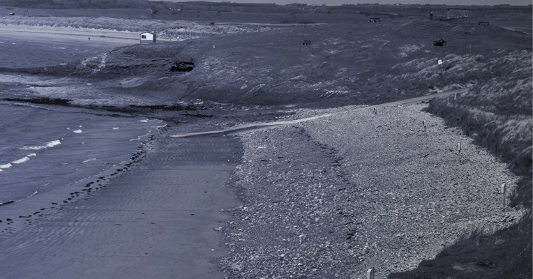 The First Beach at Rosses Point where the body of Peter Bergmann was found in June 2009
