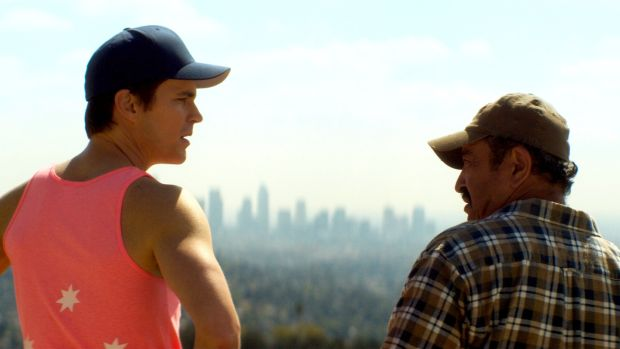 Matt Bomer and Alejandro Patino in Papi Chulo
