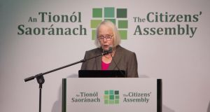 There is no arguing with the fact that the last Citizens' Assembly, chaired by Ms Justice Mary Laffoy (above), and the Constitutional Convention that preceded it were a great success. Photograph: Tom Honan
