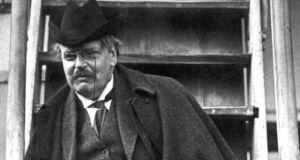 """GK Chesterton was certainly no ascetic, enjoying cigars and alcohol as well as food. Unlike most saints, he was also happily married."""