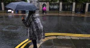 The long term forecast is for the changeable showery conditions to continue into the middle of next week. Photograph: Frank Miller/The Irish Times